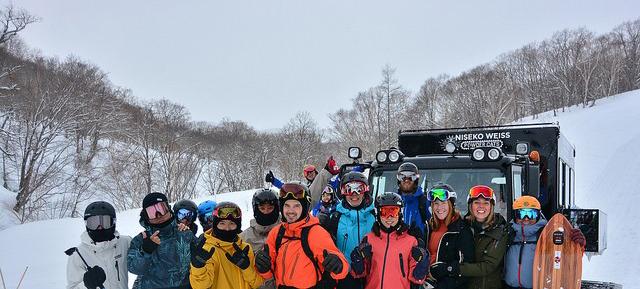 E22 - Cat skiing at Weiss, Hokkaido, Japan